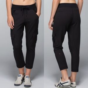Lululemon Carry Go French Terry Sweatpants Cargo 4